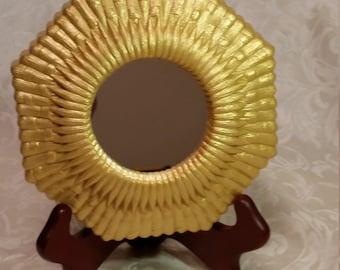 GOLDEN OCTAGON MIRROR