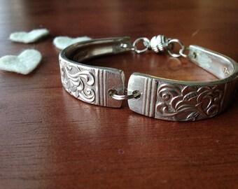 Silverware Handle Bracelet