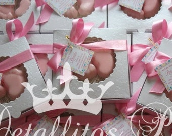 Baby Shower Favors, Baby foot Soaps