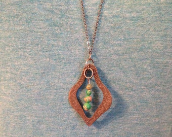 Imperial Jasper upcycled necklace