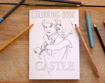 Castle Colouring Book