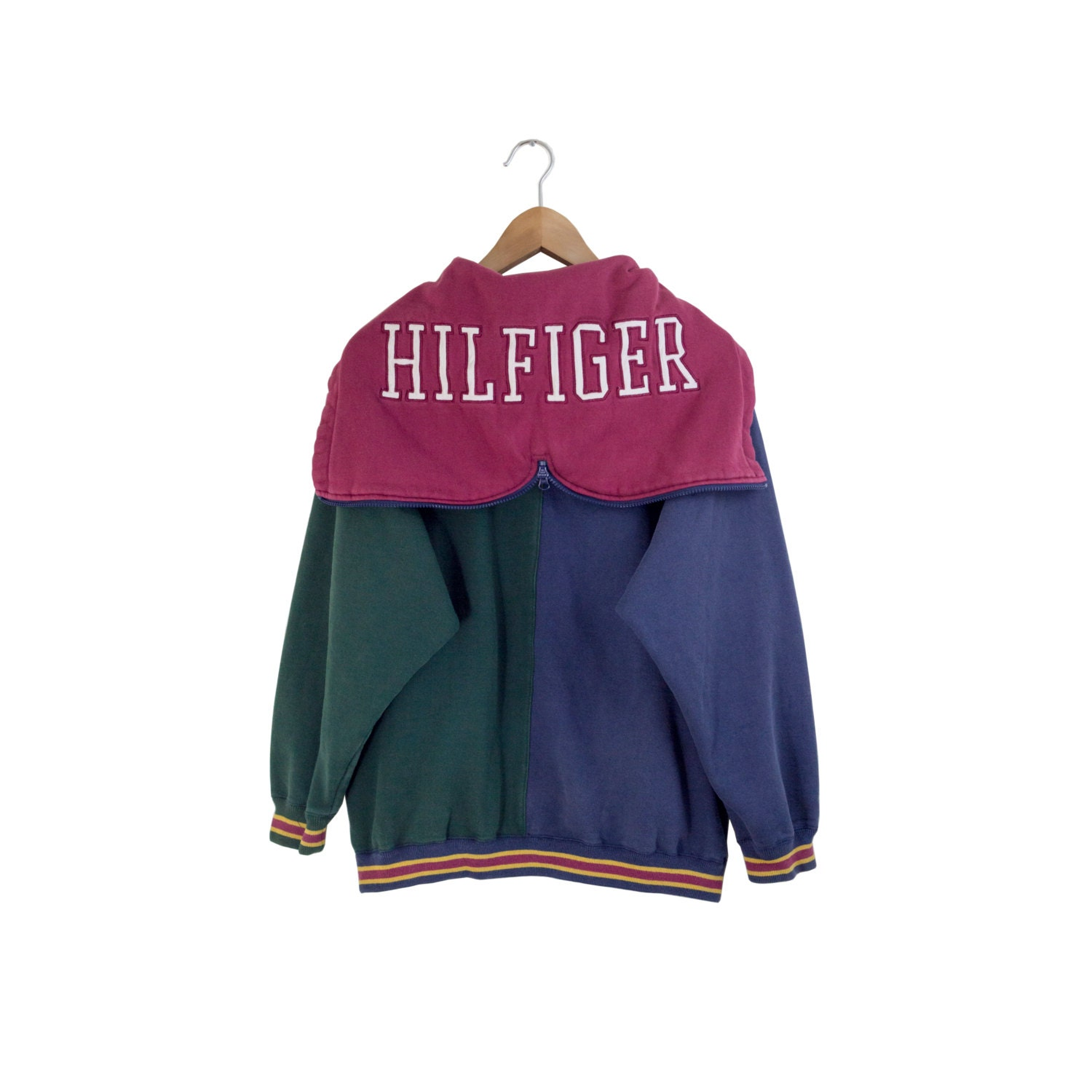 tommy hilfiger hoodie color block hoodie hilfiger hooded. Black Bedroom Furniture Sets. Home Design Ideas