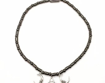 Hematite Goddess Necklace