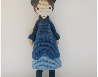 Mary Poppins - Crochet Pattern by {Amour Fou}