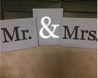 Mr. & Mrs. Canvas
