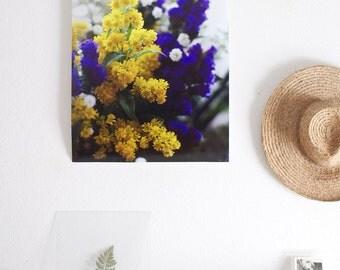 Flower poster JOY 50x70