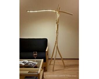Floor lamp, ' Windfall deLight '