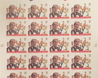Dr. Suess 37 Cent Postage Stamps