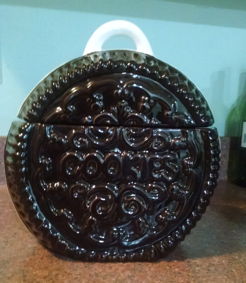 Oreo Oreo Style Cookie Jar By Doranne Of California Usa J55