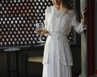 Antique white dress