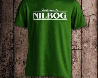 Welcome to Nilbog | Men's tee | Inspired by Troll 2