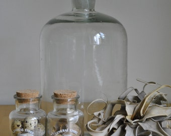 Former blown apothecary bottle