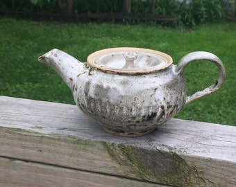 Wheel Thrown Teapot