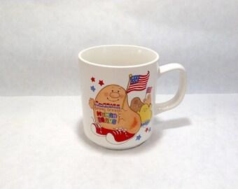 Human Beans USA Vintage Mug