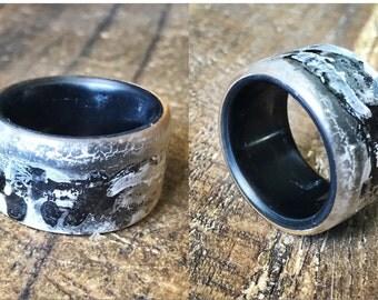 Custom LINED Resin Ring