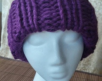 Purple Knit Hat #01004