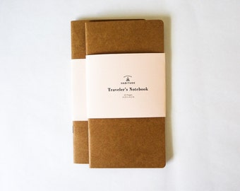 Traveler's Notebook Insert | Midori Inserts | Custom Journal Insert | Fauxdori Insert | Travel Journal | Kraft Notebook