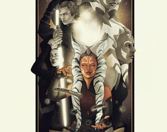 Limited Edition - Star Wars Celebration Europe 2016 Ahsoka Tano Print