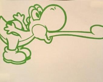 Mario Bros: Yoshi Decal