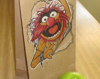 Animal Lunch Bag art