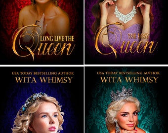 Premade book cover ~ The Royal Legacy Series - Four Cover Set