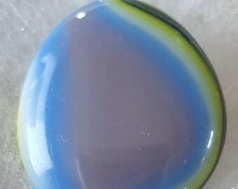 Glass Pebble Pendant