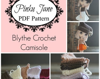 PDF Blythe Camisole Crochet Pattern Revised Downloadable