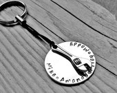 Fathers Wrench Keychain | Fathers Day Gift | Customized Keychain For Dad | Brother Gift | Mens Keychain