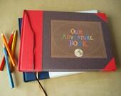 Our Adventure Book · UP · Wedding Scrapbook · Wedding Photobooth Album / Guest Book · Anniversary Scrapbook · Adventure Travel Book