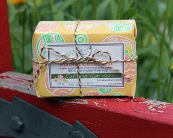 Soy Wax Tart Melts   Breakaway wax tarts   Cutting Garden   Spring Summer Fragrance   Scented Wax Tart Melt   Eco-Friendly Packaging