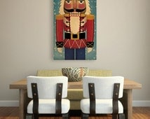 CUSTOM Nutcracker Stretched Canvas Wall Art Ready-To-Hang Signed FREE PROOF