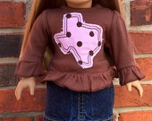 Texas Doll Outfit