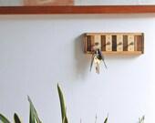 Key Rack / Jewelry Rack Reclaimed Wood - Chonko Style