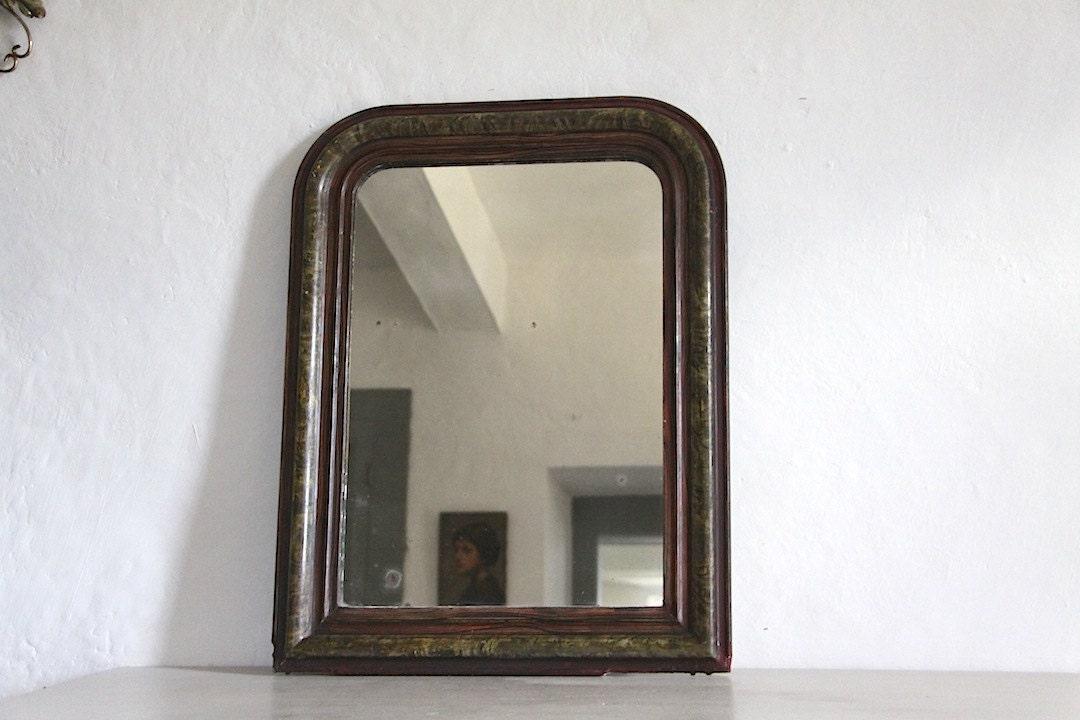 Decorativa specchio francese antico con originale di maintenant - Specchio in francese ...