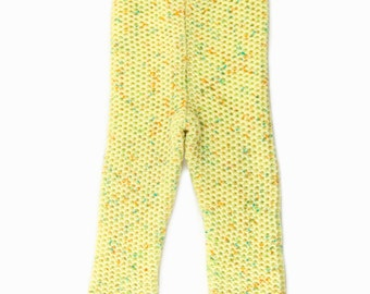 Knitted Baby Pants - Yellow, 18 - 24 months