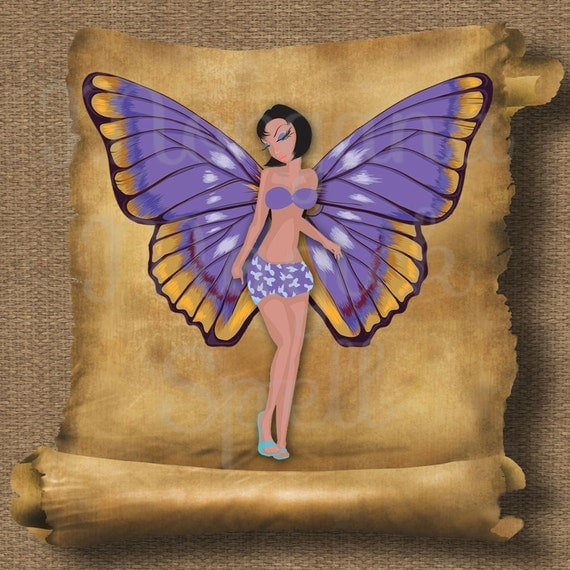Butterfly Fairy Royalty Free Clip Art