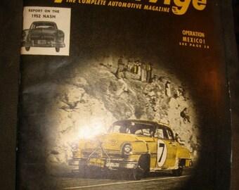April 1952 Speed Age The Complete Automotive Magazine ~ Vintage 1950s Auto Car Hot Rod Racing