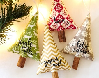 Rustic Christmas Tree Holiday Decor Merry Christmas Sayings First Christmas Decorations Hostess Gift