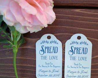 Spread the Love, Gift Tags, Favour Tags, Favor Tags, Weddings, Bridal Shower, Wedding Favour Tags, Wedding Gift Tags, Jam, Jelly, Spread