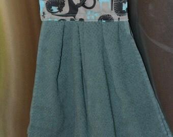 Tea Towel Decorative Hanging Dish Towel Kitchen Cloth Drying Towel Oven DoorTowel Cotton Towel topper Gift for Her