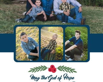 Multi-Photo Christmas Card