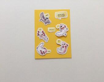 Axolotl Stickers