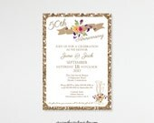 Anniversary Invitations, 5th, 15th, 20th, 25th, 35th, 50th, Wedding Invitation, Vow Renewal Invite, Photo Anniversary Cards, A101351