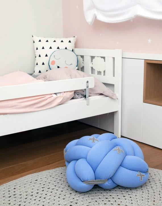 Floor Pillows For Playroom : Light Blue Kids Knot Cushion Kids decor Kids floor by KNOTSstudio