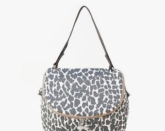leopard print Crossbody Messenger Shoulder Canvas Bag