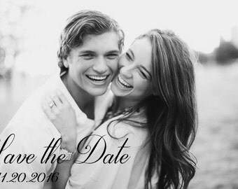 Classic Wedding Save the Date