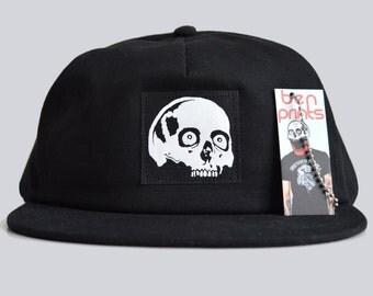 Skull Snapback Cap. Snapback Hats, Mens Hats, Black Caps
