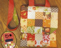 Quiltsmart Tablet Tote Bag Pattern Fun Pack; Includes Pre-Printed Fusible Interfacing; QS10040; Quilted Bag Pattern; Jelly Roll Friendly