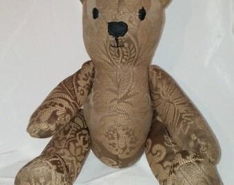 Brown Tapestry Bear