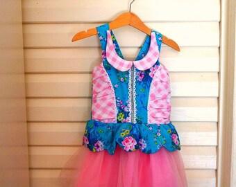 Girls floral Dress - Lucy Star Dress